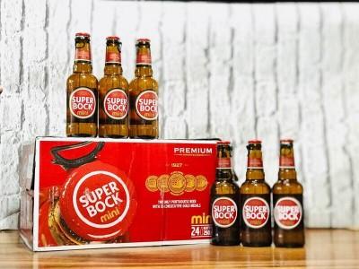 Bia Super Bock Mini 5.2%-Chai 250ml