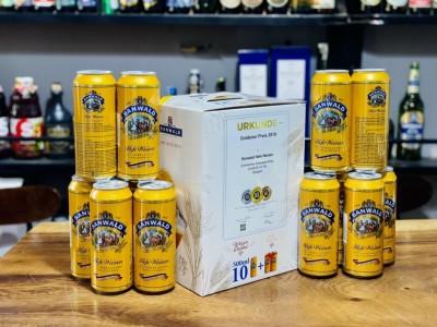 Hộp quà bia Sanwald Hefeweizen 4.9%-Lon 500ml