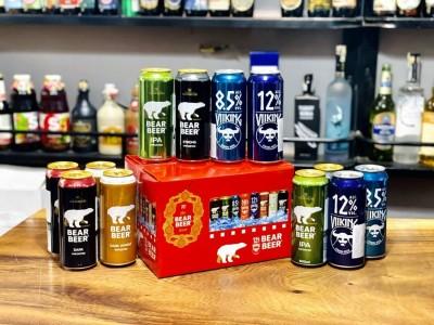 Hộp quà bia Gấu (Beer) Đức