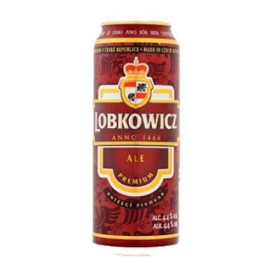 Bia Lobkowicz Ale Premium 4.4%-Lon 500ml