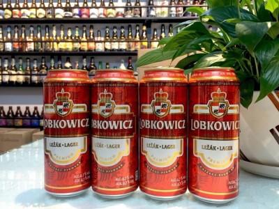 Bia Lobkowicz Lager 4,7%-Lon 500ml