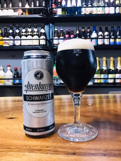 Bia Altenburger Schwarzes 4.9%-Lon 500ml