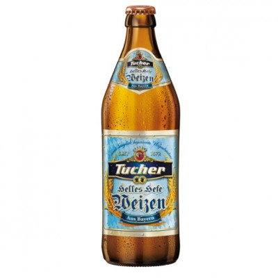 Bia Tucher Helles Hefeweizen 5.2%-Chai 500 ml