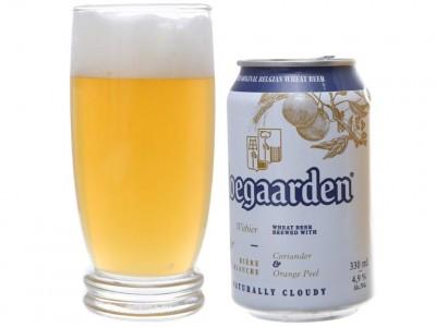 Bia Hoegaarden 4,9% - lon 330 ml