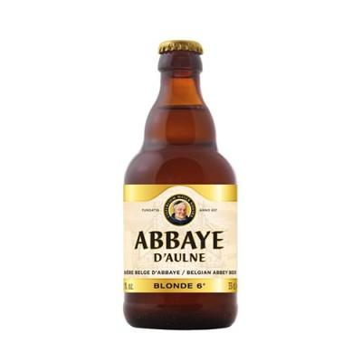Bia Abbaye d'Aulne Blonde 6%-Chai 330ml