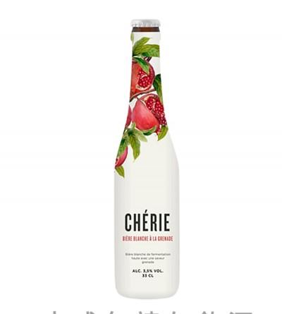 Bia Chérie Biere Blance 3.5%-Chai 330ml