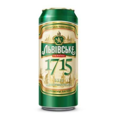 Bia Lvivske 1715 4,7%-lon 500ml