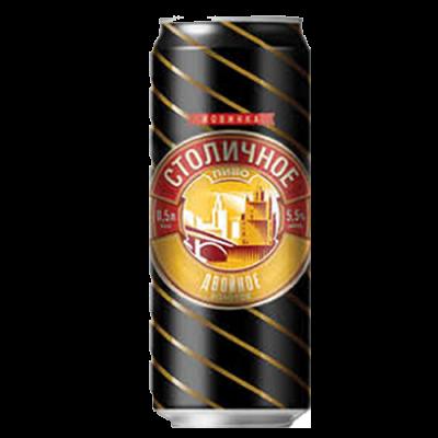 Bia Double Gold (Tubo) 5%-lon 500 ml