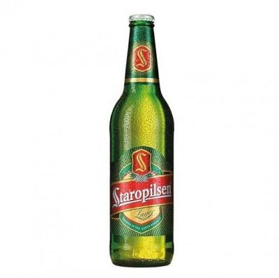 Bia Staropilsen 4,7% Tiệp-chai 330ml