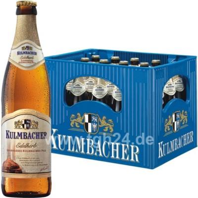 Bia Kulmbacher Pils Edelherb 4.9%-Chai 500ml