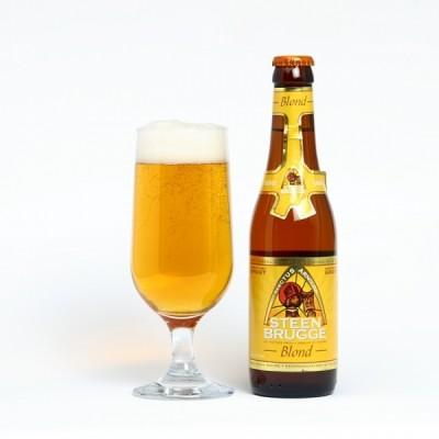 Bia Steenbrugge Blond 6.5%-Chai 330ml