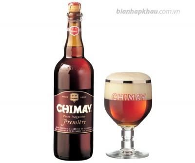 Bia chimay đỏ 7% - chai 750ml