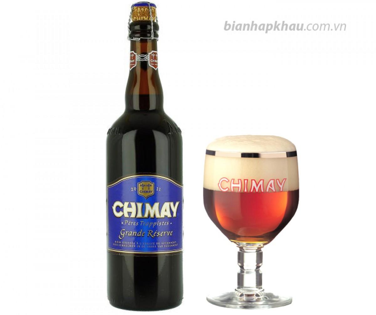 Bia Chimay xanh 9% - chai 750ml