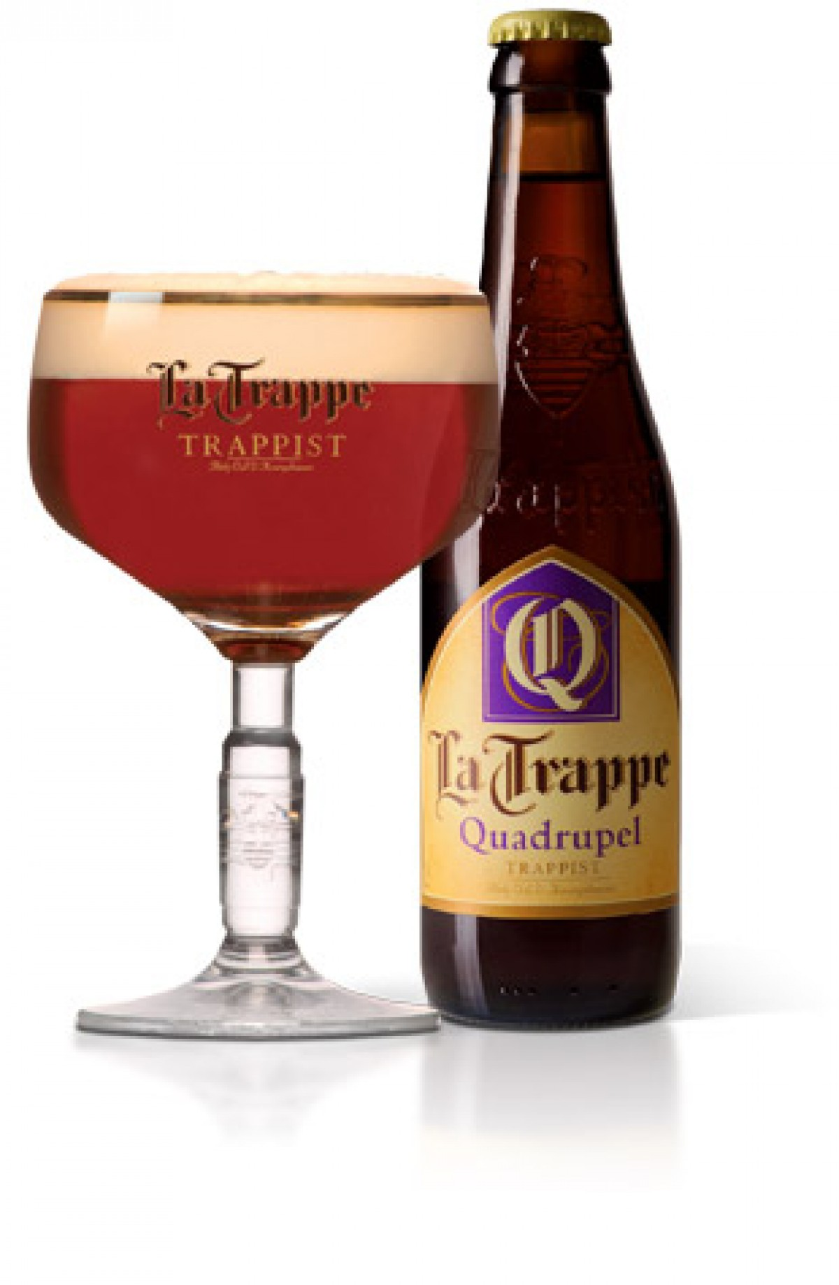 Bia La Trappe Quadrupel 10% - chai 330 ml