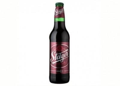 Bia Steiger đen 11% - chai 500ml
