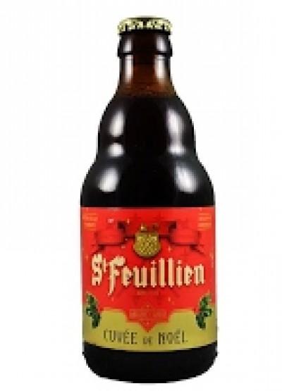 Bia St-Feuillien Noel 9% - Chai 330 ml