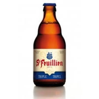 Bia St-Feuillien Triple 8,5% - Chai 330 ml