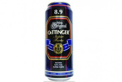 Bia nặng Oettinger 8,9% - lon 500ml
