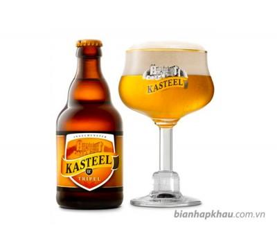 Bia Kasteel Triple 11% - chai 330 ml