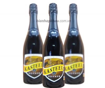Bia Kasteel Bruin (Donker) 11% - chai 750 ml