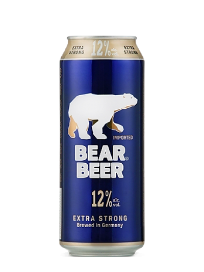 Bia Gấu/Bear Beer 12% - lon 500ml