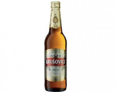Bia krusovice Imperial 5% – chai 330ml