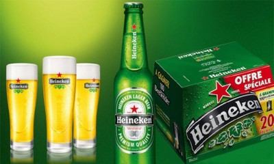 Bia Heineken 5% -chai 250 ml