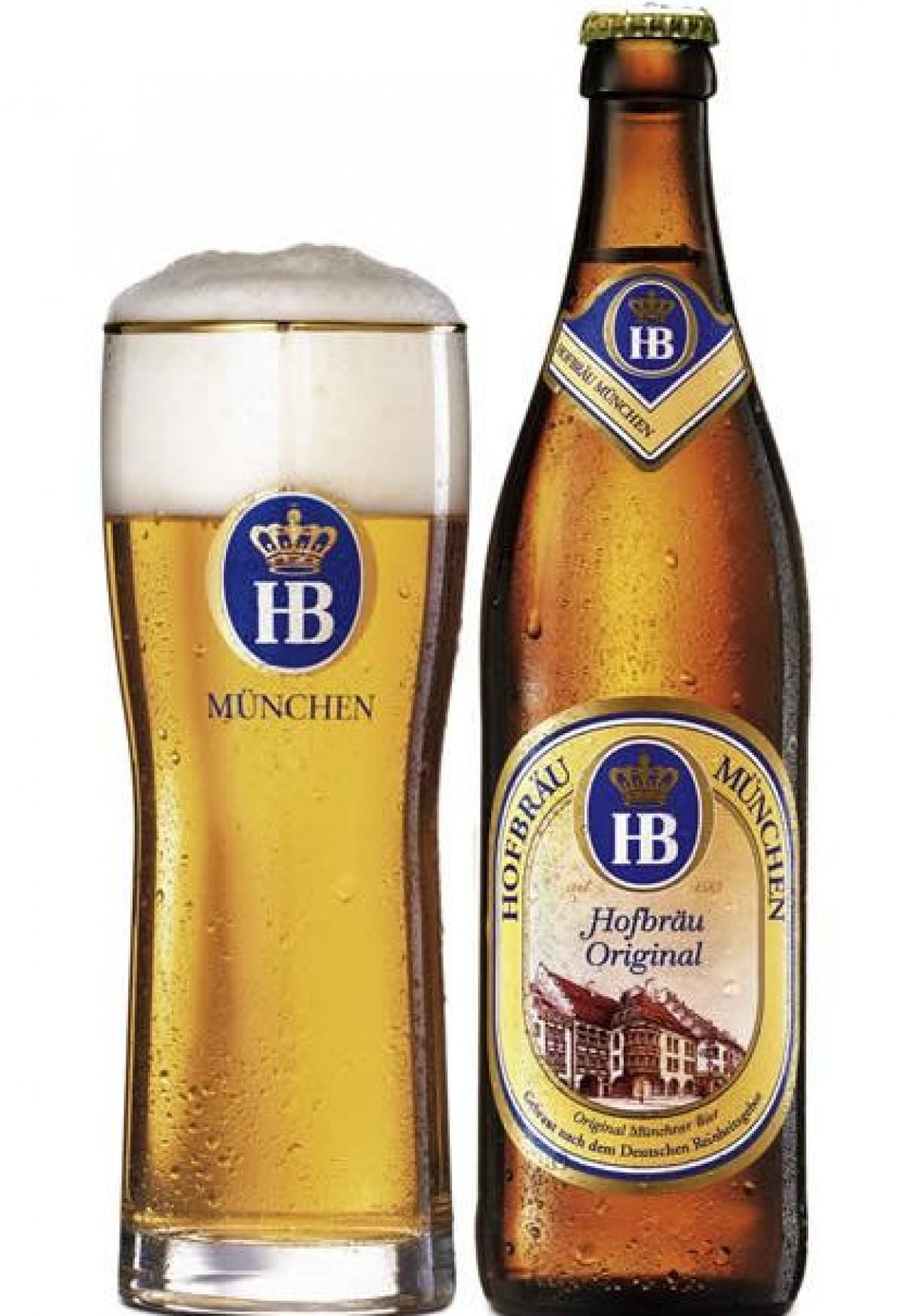 Bia Hofbrau Original 5,1%-chai 500 ml