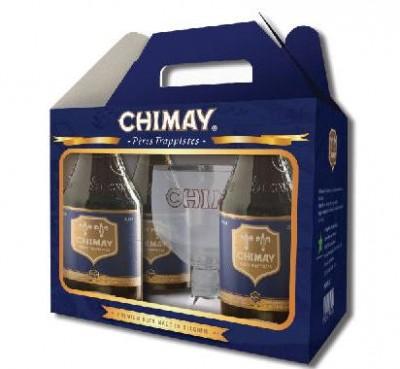 Xách bia chimay xanh 9% - chai 330ml