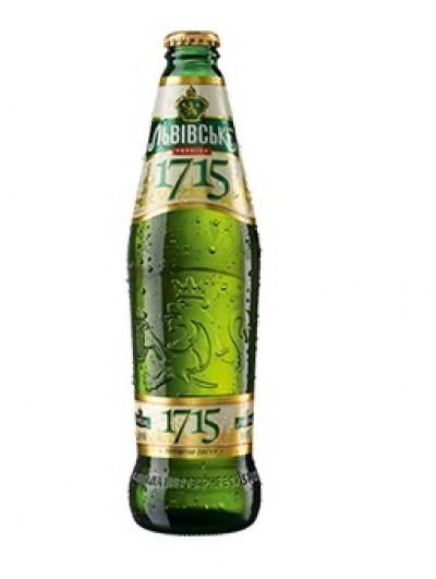 Bia Lvivske 1715 4,7%-chai 475ml