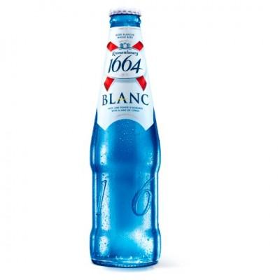 Bia Kronenbourg 1664 Blanc 5%–Chai 250ml
