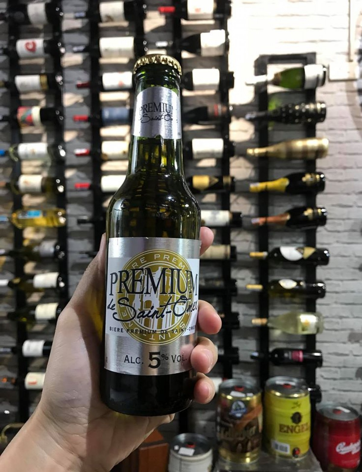Bia Saint Omer 5% - chai 250 ml