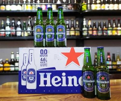 Bia Heineken Không Cồn 0%-Chai 250ml