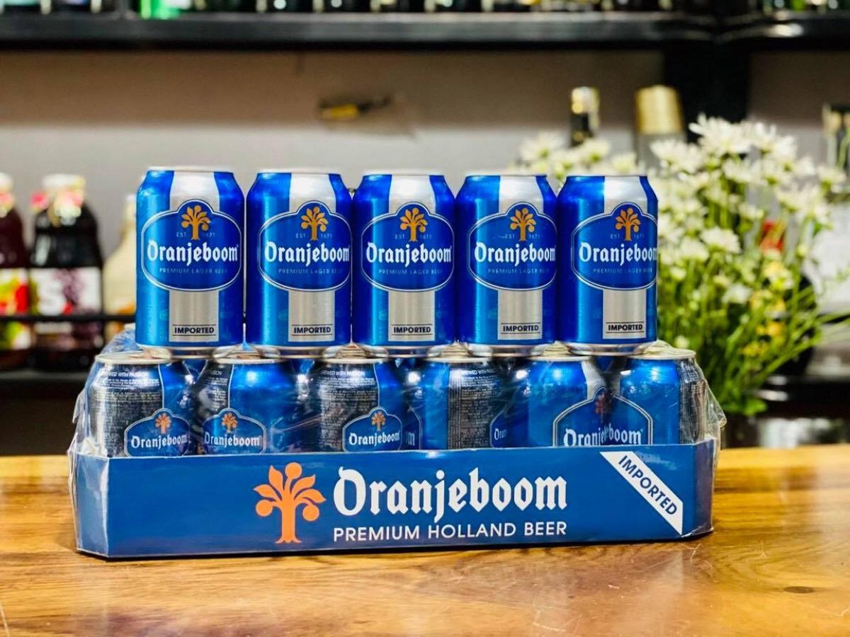 Bia Oranjeboom Premium Lager Imported Quà Tặng 5%-Lon 330ml