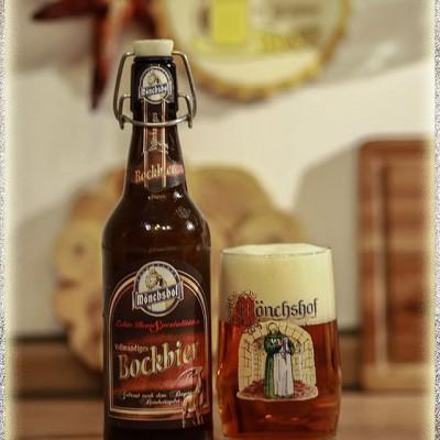 Bia Monchshof Bockbier 6,9%-chai 500ml