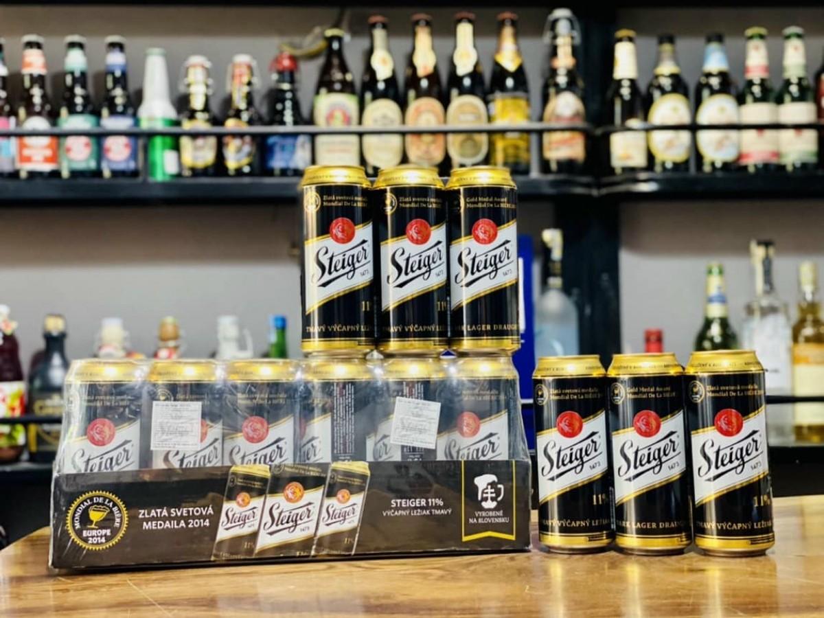 Bia Steiger Đen 4,5%-Lon 500ml