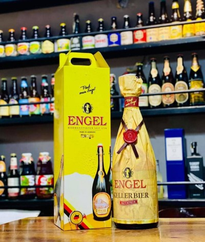 Bia Engel Kellerbier 5.4%-chai 3 lít
