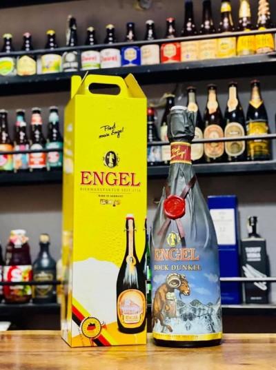 Bia Engel Bock Dunkel 7.2%-Chai 3lít